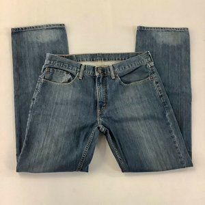 Levi's 559 Blue Jeans Relaxed Straight  32x32